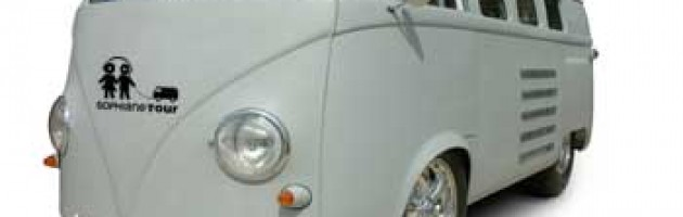 Van VW et Logo Sophiane Tour